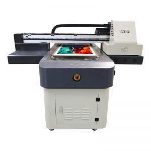 A4 Größe digitale UV-Druckmaschine PVC Leinwand Tuch Teppich Leder Drucker