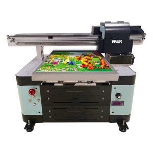 a2 größe uv flachbettdrucker für metall / telefonkasten / glas / stift / becher