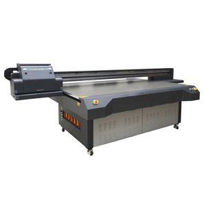 UV-Flachbett-Tintenstrahldrucker WER-ET2513UV Druckkopf mit hoher Geschwindigkeit