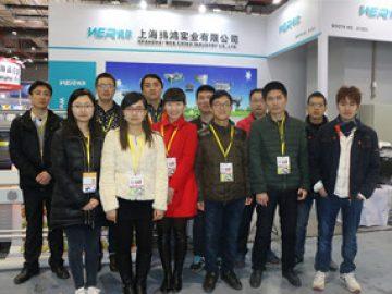 Exhibition in Shanghai, March, 2018