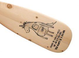 Holzpaddel
